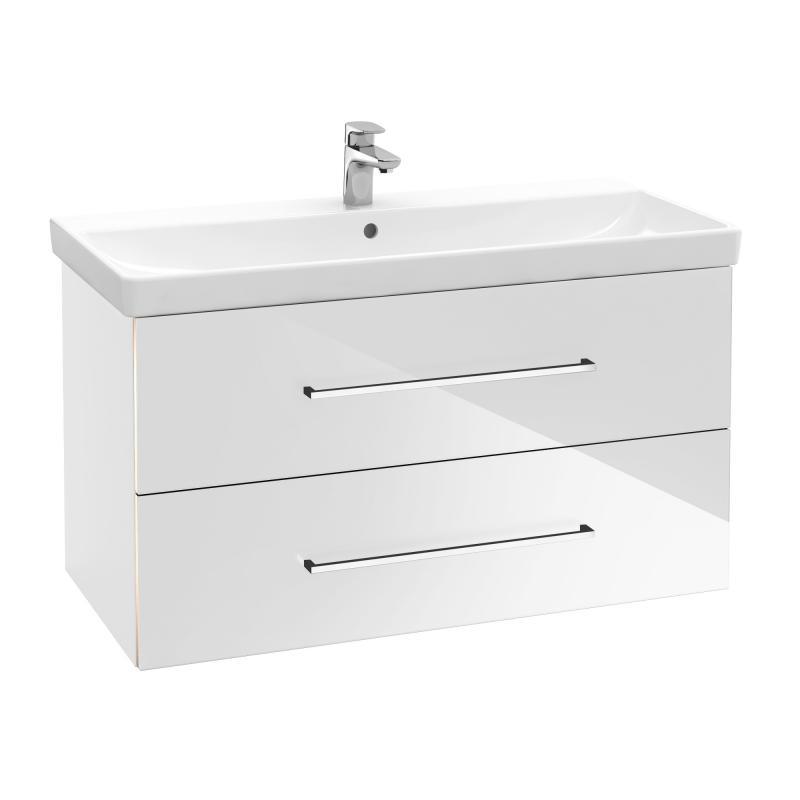 VILLEROY & BOCH Avento skrinka s umývadlom 760 x 520 x 447 mm Crystal White 397903