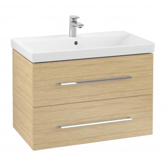 VILLEROY & BOCH Avento skrinka s umývadlom 760 x 520 x 447 mm Nordic Oak 397907