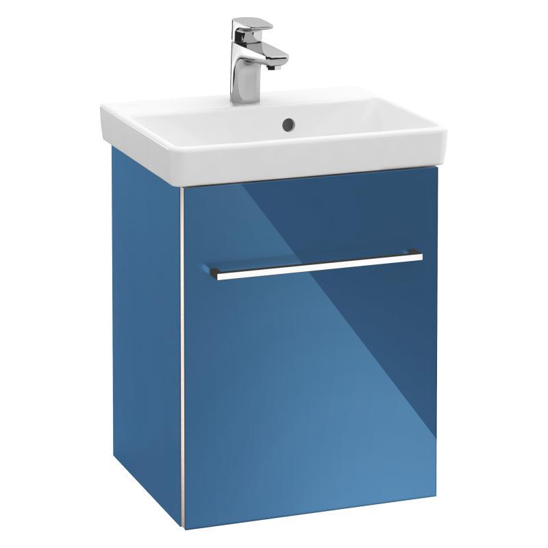 Villeroy & Boch Avento - Umývadlová skrinka, 430x514x352 mm, 1 dvierka, Crystal Blue A88700B2
