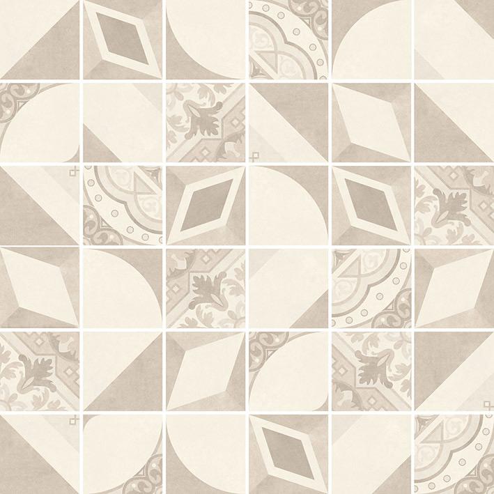 VILLEROY & BOCH Century Unlimited 30 x 30 cm (5 x 5 cm) dlažba dekor mozaika 230CF28