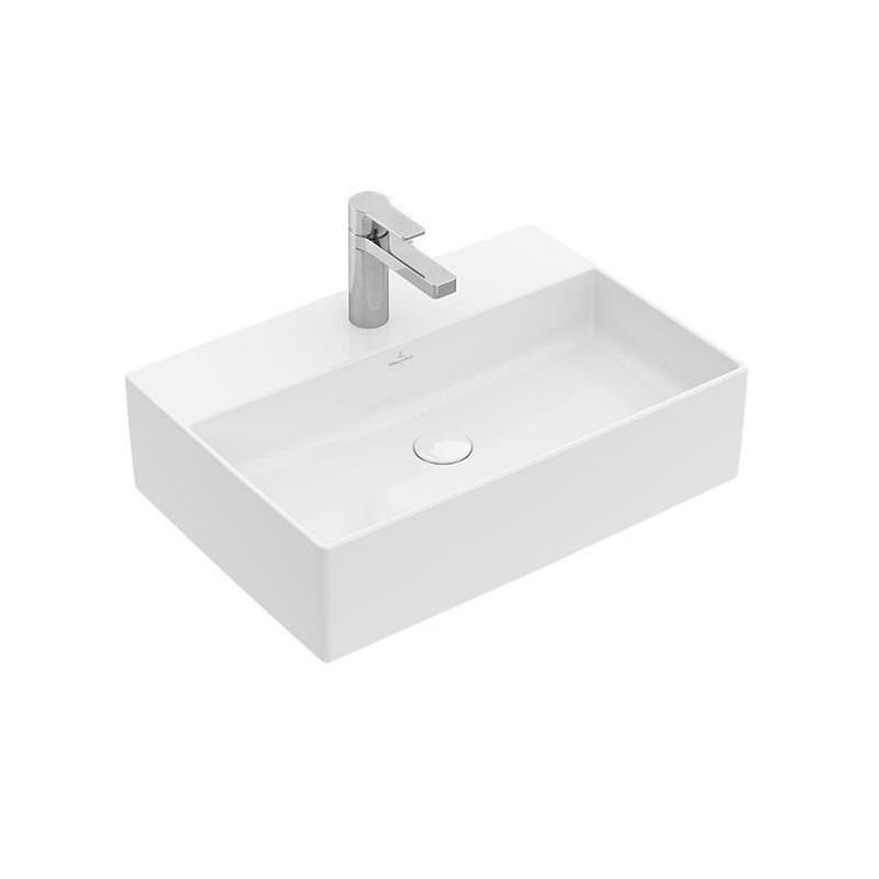 Villeroy & Boch Memento 2.0 umývadlo na dosku 50 x 42 cm bez prepadu Ceramic Plus 4A0751R1