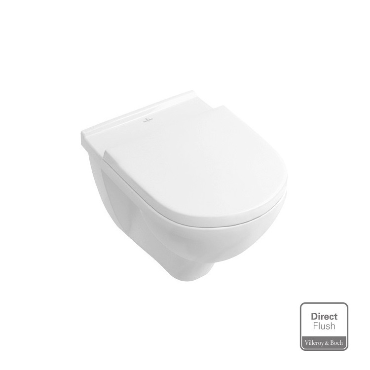 VILLEROY & BOCH O.Novo WC misa s DirecFlush + sedátko so SoftClose 5660HR01