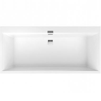 VILLEROY & BOCH Squaro Edge 12 duo vaňa 160 x 75 cm biela UBQ160SQE2DV01