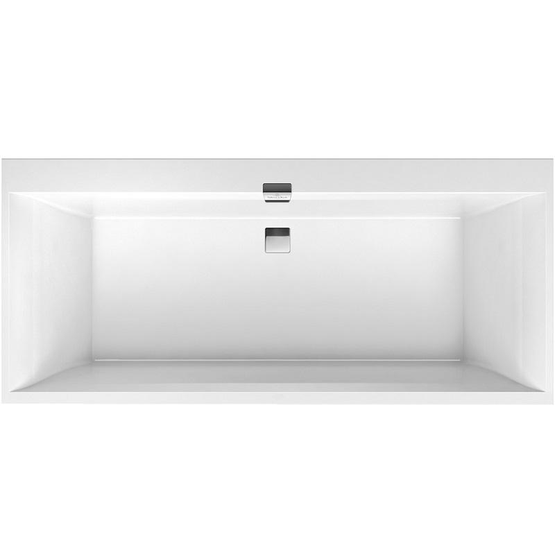 VILLEROY & BOCH Squaro Edge 12 duo vaňa 180 x 80 cm biela UBQ180SQE2DV01
