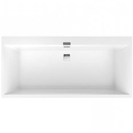 VILLEROY & BOCH Squaro Edge 12 duo vaňa 190 x 90 cm biela UBQ190SQE2DV01