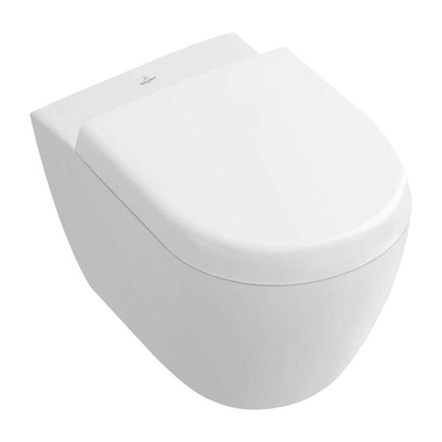 VILLEROY & BOCH Subway 2.0 závesná WC misa 35,5 x 48 cm s bez vnútorného okraja Ceramic Plus 5606R0R1