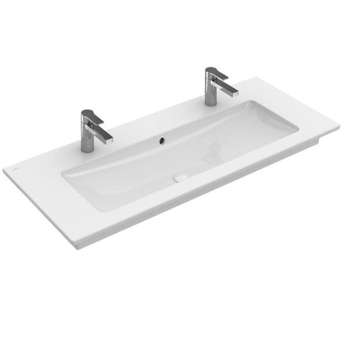 Villeroy & Boch - umývadlo Venticello 100x50 cm s dvoma otvormi pre batériu 4104AK01