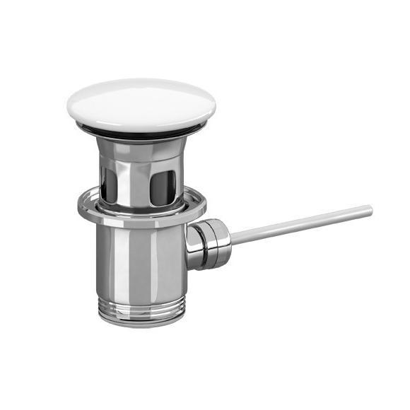VILLEROY & BOCH Universal ventil umývadlový uzatvárateľný s keramickou krytkou, biela  68060001