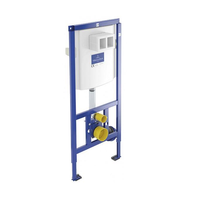 VILLEROY & BOCH VICONNECT duofix - zabudovateľná WC nádrž s kotvením do zadnej priečky 92246100