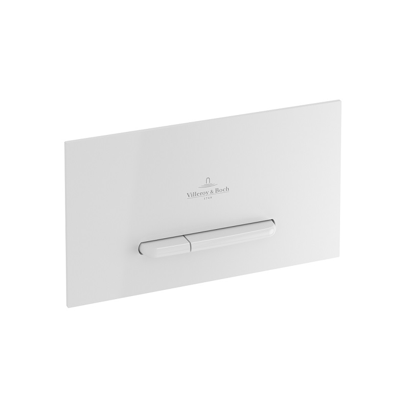 VILLEROY & BOCH ViConnect E300 splachovacie WC tlačítko biela 92218068
