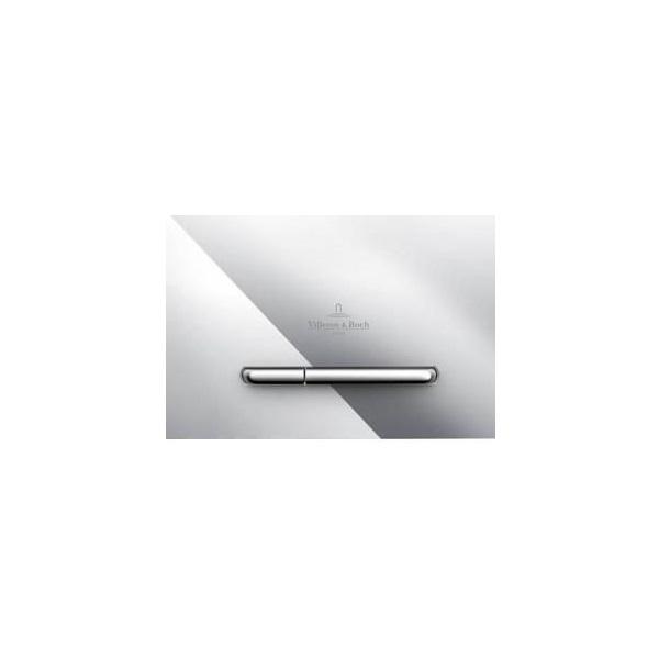 VILLEROY & BOCH ViConnect E300 splachovacie WC tlačítko chróm 92218061