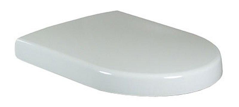 Villeroy&Boch sedátko WC SUBWAY s QuickRelase a SoftClose so závesom nerez biela  9M55S101