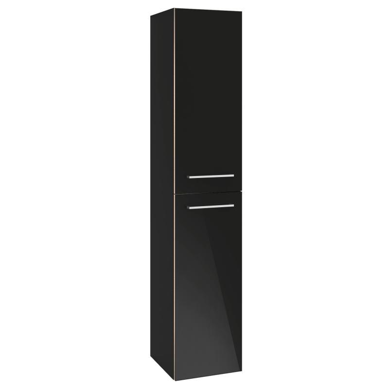 vysoká skrinka AVENTO 350 x 1760 x 370 mm Crystal Black A89400B3