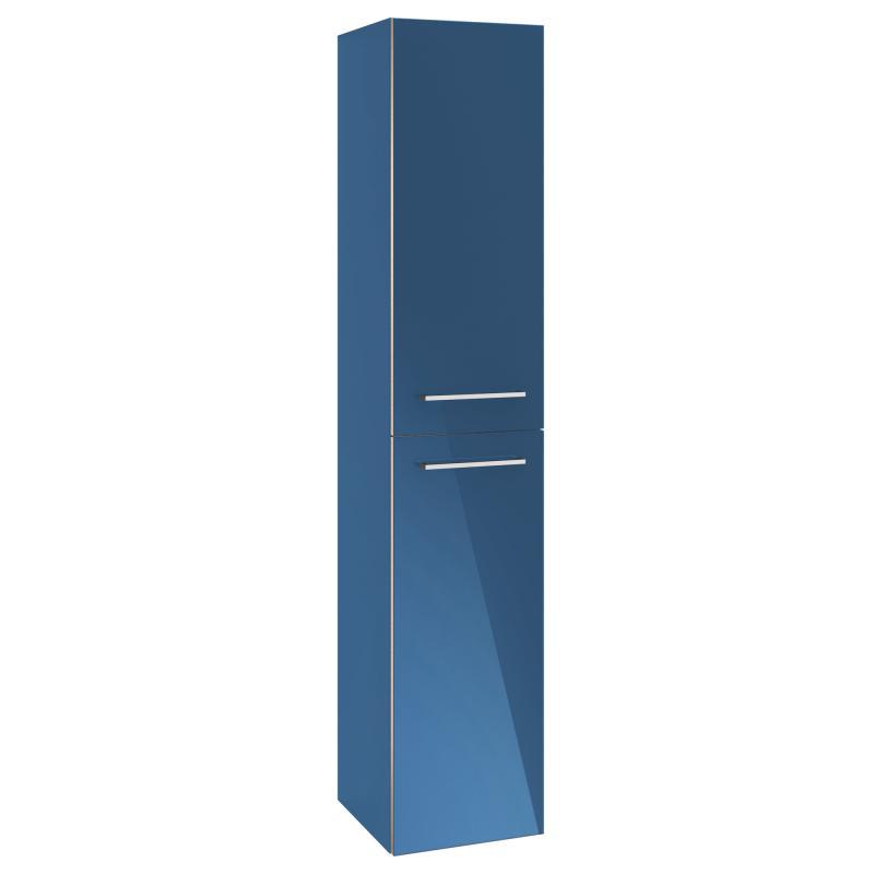vysoká skrinka AVENTO 350 x 1760 x 370 mm Crystal Blue A89401B2
