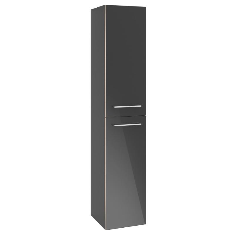 vysoká skrinka AVENTO 350 x 1760 x 370 mm Crystal Grey A89401B1