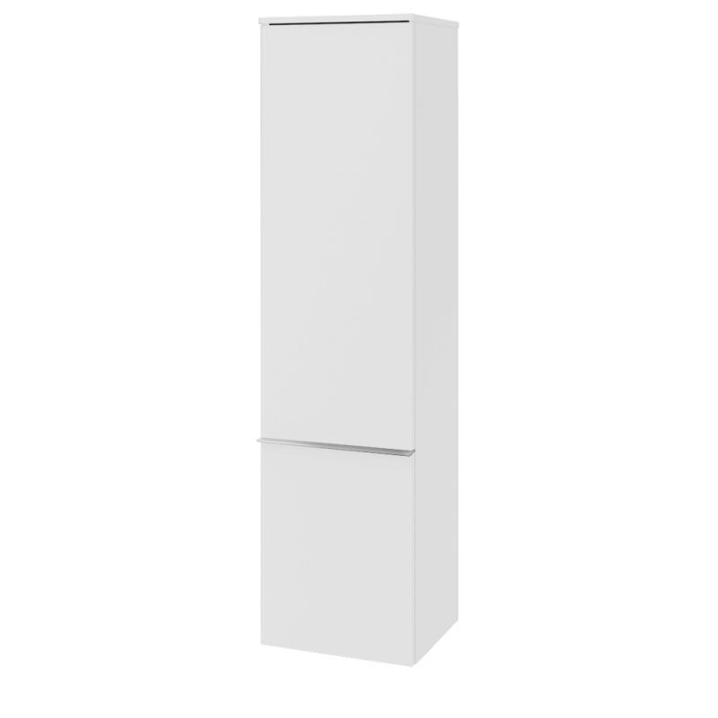 vysoká skrinka VENTICELLO 404 x 1546 x 372 mm Glossy White, úchytka chróm A95101DH