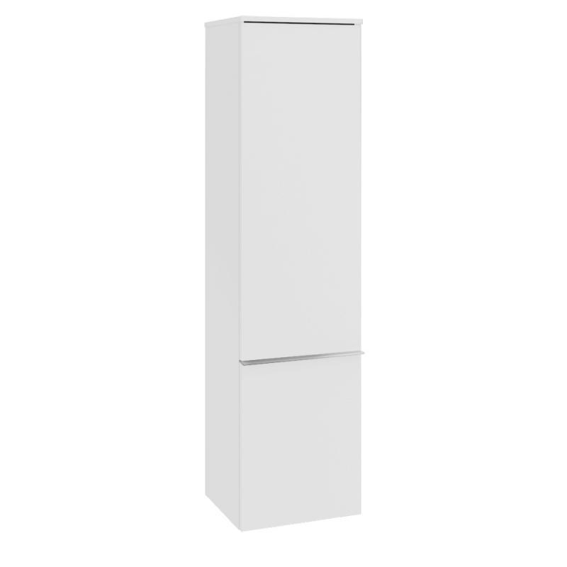 vysoká skrinka VENTICELLO 404 x 1546 x 372 mm Glossy White, úchytka chróm A95111DH