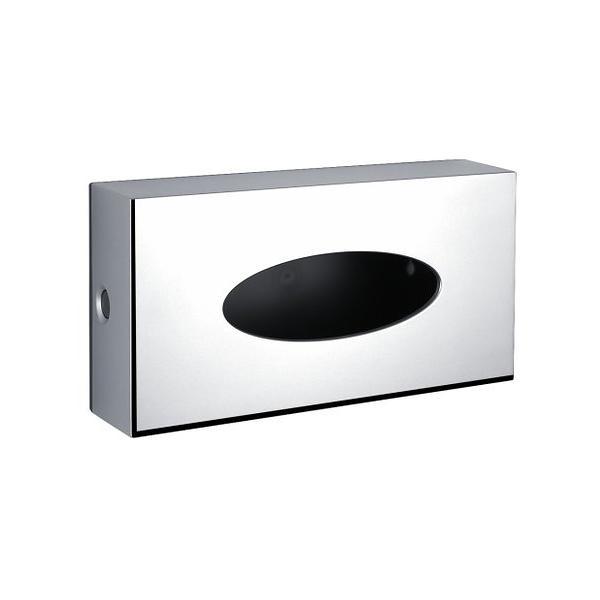 zásobník na papier kapesníčky NIMCO pre 100 ks chróm