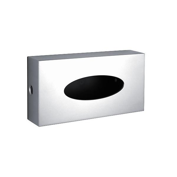 zásobník na papier kapesníčky NIMCO pre 100 ks strieborná metalická