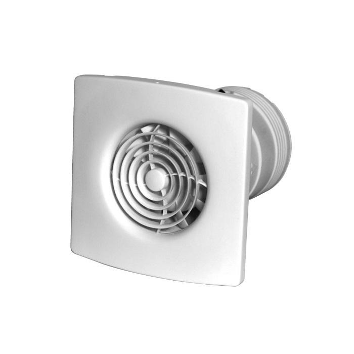 ZEHNDER Silent HTR, ventilátor kúpeľňový, s časovačom a regulátorom vlhkosti ZSR100HTR
