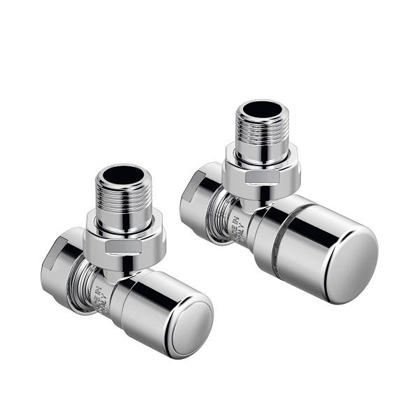 Zehnder ventily - Set A rohový ventil Runtal 1/2