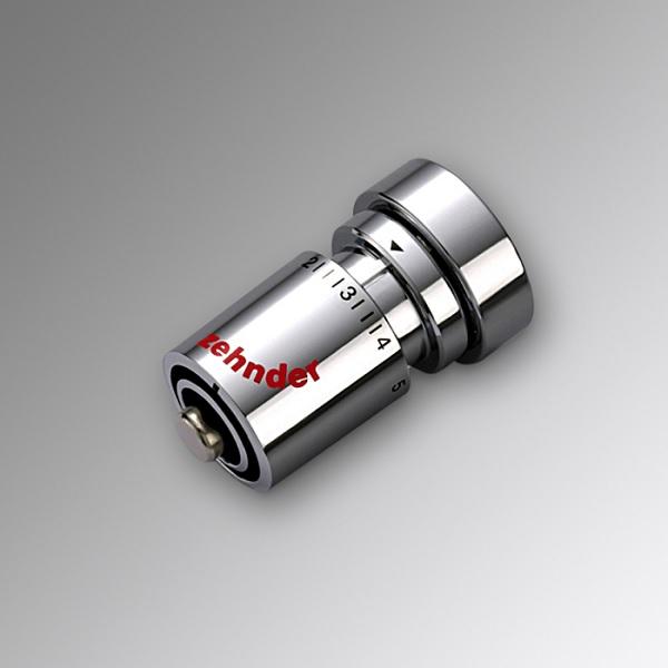Zehnder ventily - termostatická hlavica DH M 30 x 1,5 chróm, 819058
