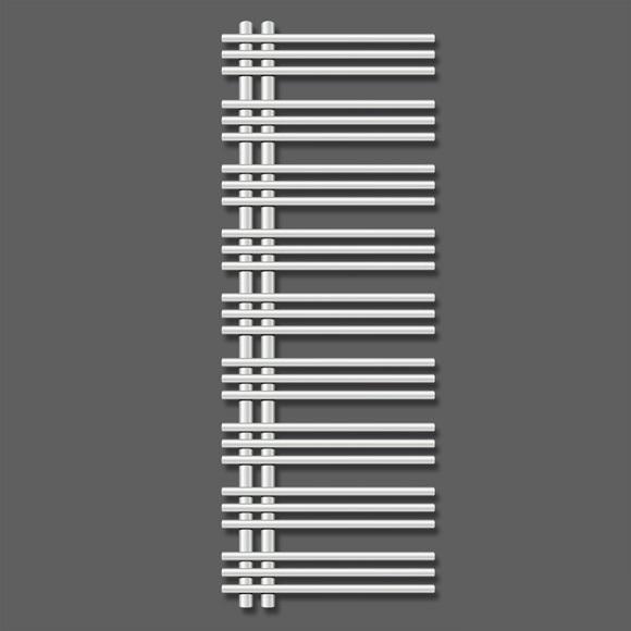 ZEHNDER Yucca asymetrická radiátor 1300 x 400 mm chróm YAC-130-040