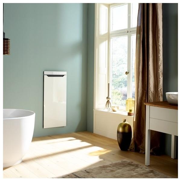 ZEHNDER Zenia komfortný vykurovací modul panty vpravo biely ZENRW100045/X